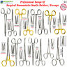 MEDENTRA® Locking Clamp Forceps Straight Curved Surgical Needle Holders Medical