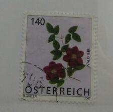 2007 Austria SC#2101 WALDREBE FLOWERS  used stamp