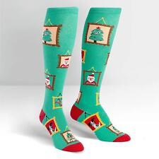 Sock It To Me Women's Knee High Socks - Holiday Photos