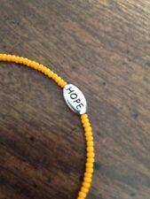 Orange Awareness Bracelets (Self-Harm, ADHD, etc.)