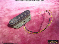 Vintage Fender Grey Bottom Telecaster Bridge Pickup Tele 1970 1971 1972 1969 73