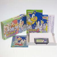 Sonic Advance Nintendo Game Boy Advance Japan Import GBA SEGA Action Complete !