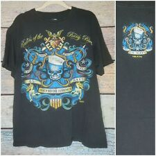 7.62 DESIGNS US NAVY DEATH BEFORE DISHONOR T SHIRT PATRIOTS N MEN OF ARMS LARGE