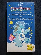 Care Bears-Bedtime for Care-A-Lot & The Best Way To Make Friends [VHS Tape] [2..