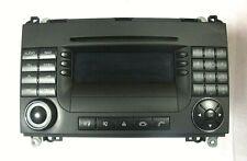 Mercedes Benz W169 Audio CD Radio 50 APS BE6088 Becker MID Headunit A1698205089