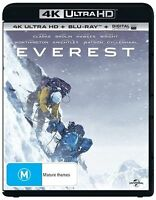 Everest NEW 4K ULTRA HD & BLU-RAY (2 Disc Set, 2015) NEW