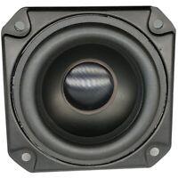 3 Inch 8Ohm 20W Full Range Speaker Rubber Tweeter Midrange Woofer Low Frequ M6H2