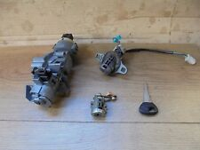 MAZDA 323F 1999 IGNITION BARREL,PASSENGER DOOR AND TAILGATE LOCKS WITH 1 KEY