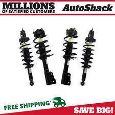 Front and Rear Complete Strut & Coil Spring Assembly Set of 4 for Chrysler 200