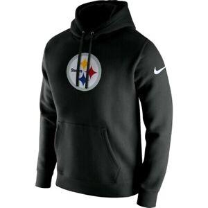 Pittsburgh Steelers Nike Club Fleece Pullover Hoodie Size XL