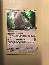 Pokemon TCG Kommandutan STAFF PROMO HOLO Sonne und Mond SM13 selten, deutsch!