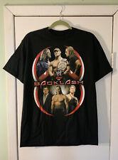 C634- Official 2006 Backlash Shirt By WWE John Cena Edge Triple H Shawn Micheals
