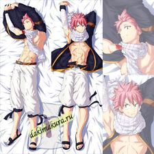 Anime Fairy Tail: Natsu Dragneel Dakimakura 50x150cm, 19.6x59 inch N600