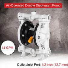 13gpm Polypropylene Pneumatic Double Diaphragm Pump 12 Import 100psi Qby 15pp