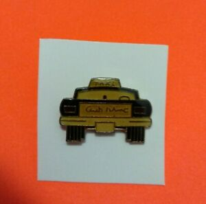 Yellow Taxi Cab Hat / Lapel Pin