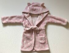 George Baby Girls Pink Dressing Gown 6-12 Month