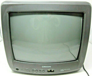 """Orion 13"""" CCD Model No. TV1333 Retro Gaming Television WORKS No Remote CRT 2001"""