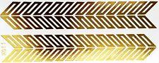 Tatuaje Gold only use Flash pegamento temporal 2 partes Pulse through Cadena de Educational