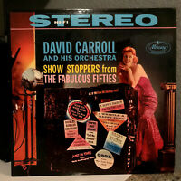 "DAVID CARROLL - Showstoppers From The Fabulous 50's - 12"" Vinyl Record LP - EX"