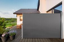 Aluminium Seitenmarkise ausziehbar Sichtschutz Windschutz Sonnenschutz 180x300