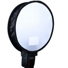 "12"" Easy-fold Round Mini Flash Softbox Diffuser Reflector for Nikon Sigma Pentax"