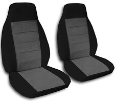 TwoTone Bucket Seat Covers for a  2008 to 2014 GMC & Chevy Trucks