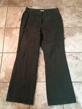 Womens Size 10 Pants Dark Green By St Johns Bay