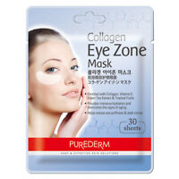 PUREDERM ® Collagen Eye Zone Mask 30 sheets 1/2pcs Lot