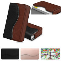 Business Name ID Credit Card Pocket Holder Wallet Case Organizer Leather