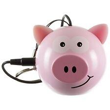 KITSOUND MINI BUDDY PIG SPEAKER FOR iPHONE iPOD iPAD ANDROID MP3 LAPTOP PC etc