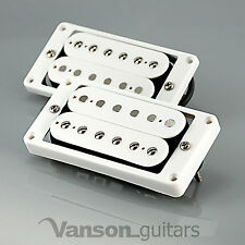 NUOVO Vanson'59 polepieces V RAF stile Humbucker Set per Gibson ®, Epiphone ® * BIANCO