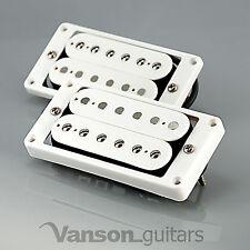 Nuevo Vanson'59 Alnico V Paf Estilo Humbucker Set Para Gibson ®, Epiphone ® * Blanco