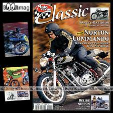 MOTO REVUE CLASSIC N°12 NORTON COMMANDO TRIUMPH 500 KAWASAKI Z900 YAMAHA 350 TR2