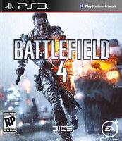 Battlefield 4 (Sony PlayStation 3, 2013) PS3 War Game, Case, Manual, CIB