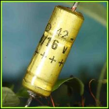 4x CONDENSATEUR CHIMIQUE AXIAL 68MF 16V SIC SAFCO CO42