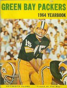Green Bay Packers 1964 Yearbook NFL Football Wisconsin Vince Lombardi Bart Starr