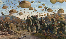 """Let Valor Not Fail"" James Dietz Artist Proof - Paratroopers and Rangers, Korea"