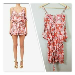[ SEED HERITAGE ] Womens Floral Print Playsuit RRP$149.95   Size AU 10 or US 6