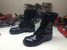 CORCORAN 1500 MILITARY USA BLACK LEATHER LACE UP ENGINEER COMBAT BOOTS 9.5 D