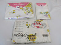 VINTAGE SHEET SET NIP LADY PEPPERELL WEST POINT YELLOW ROSE DOUBLE SET