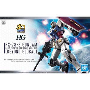 Bandai Spirits RX-78-2 Gundam Beyond Global HG 1/144 Model Kit USA Seller
