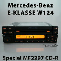 Original Mercedes Special MF2297 CD-R W124 Radio E-Klasse S124 C124 CD Autoradio