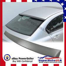 For 2012 - 2015 Honda Civic 4dr sedan rear window roof visor spoiler Matte Black