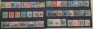Chile 1900 - 1915 collection of 44 early stamps