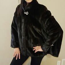 Genuine mink fur coat