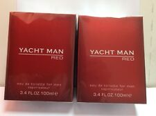 YACHT MAN RED MYRURGIA 2 X EAU TOILETTE 100 ML  SPRAY = 200 MLVINTAGE