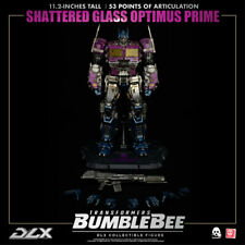 Threezero Transformers Bumblebee Shattered Glass Optimus Prime DLX figure