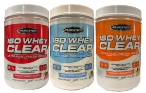 Muscletech ISO Whey Clear, Ultra PURE PROTEIN ISOLATE, 1.1lbs - Pick Flavor