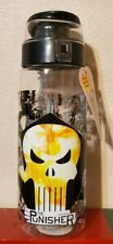 Zak Designs MKPC-K950 Marvel Comics Water Bottles, Tritan Punisher