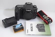 VERY GOOD CANON EOS 7D BODY, 18MP, 26K ACTS, BATT., CHARGER, MANUAL, TESTED